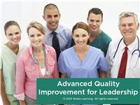 Advanced Quality Improvement for Leadership