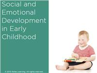 Social and Emotional Development in Early Childhood